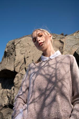 Institute Magazine / LILAC LANDSCAPES Photography: Volha Hapanenka Styling: Ali Davoodi Model: Fanny Gustaafson Mua & Hair: Hade Deneef