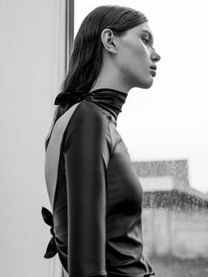 LOUIS www.louisantwerp.be Photography: Zeb Daemen Creative direction & Styling: Angela Vanderstraeten Model: Maya Mua & Hair: Hade Deneef