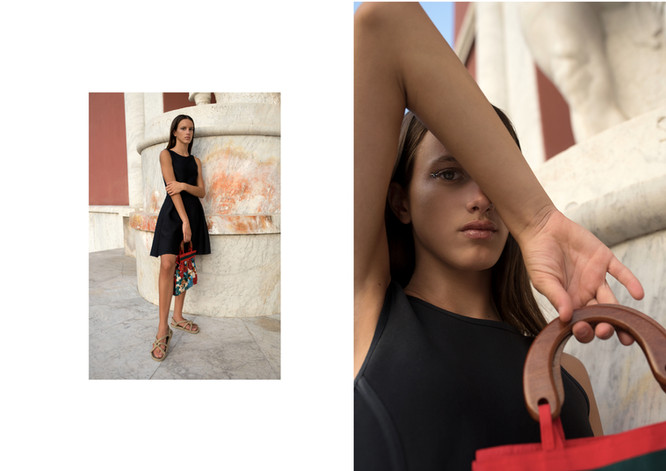 Meiyo Magazine / ROMAN IMPACT Photography: Volha Hapanenka Model: Camilla Marni Mua & Hair: Hade Deneef