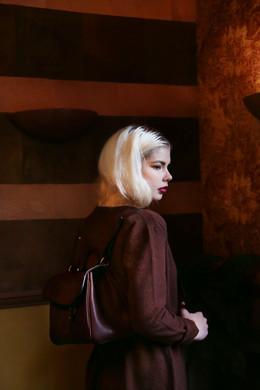 FLANEL  Photography: Morgane Gielen Model: Dasha Kuligina Styling: Ellen Van Eccelpoel Mua & Hair: Hade Deneef