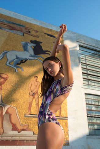 Meiyo Magazine / Roman Impact Photography: Volha Hapanenka Model: Camilla Marini Mua & Hair: Hade Deneef