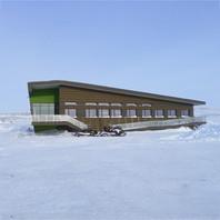 Pavillon d'accueil du Parc national Tursujuq