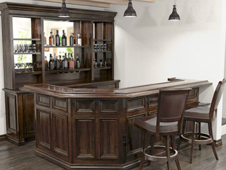 Design a Custom Home Bar