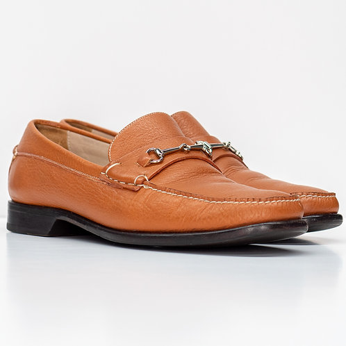 0659 BROWN LOAFERS SIZE 9