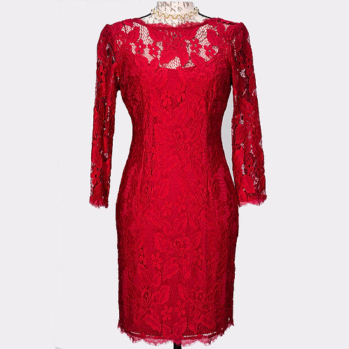 0540 RED LACE