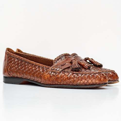 0656 BROWN LOAFERS SIZE 9