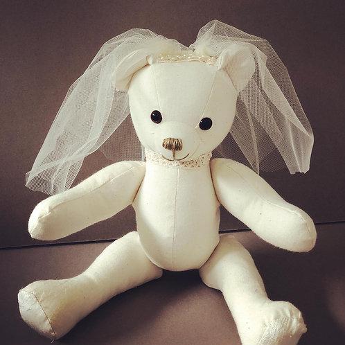 Small Signature Wedding Bear