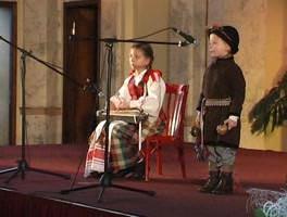 """Mažųjų talentų konkursas """"Ievaro tiltas"""" - 2009m. Laureatai: Liudvikas Račys ir Gabija Račaitė"""
