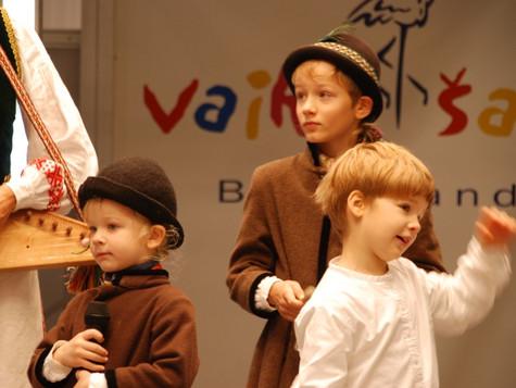 """Koncertas Litexpo parodų rūmuose paroda """"Vaikų šalis"""" 2007 m., 2009-2012 m."""