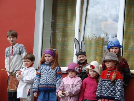 Vaikų Velykėlės 2012. Pasaka apie kiškelį