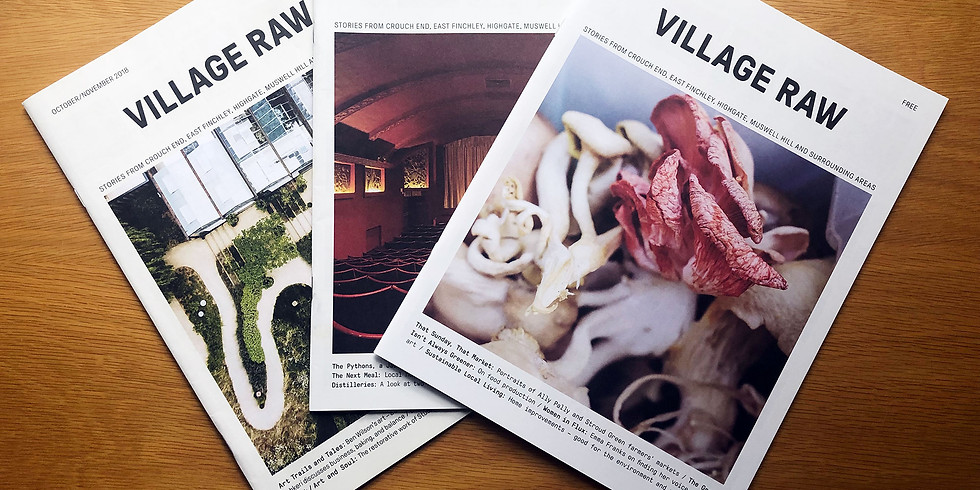 Village Raw Launch Party!