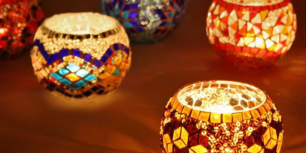 Mosaic Tealight Holders