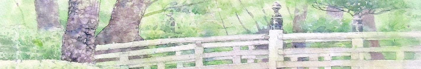 福井良佑 和風水彩画作品集・風景