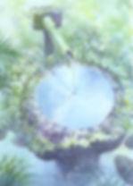 水琴(京都・三千院)水彩画