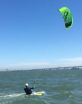 Intermediate kitesurf lesson
