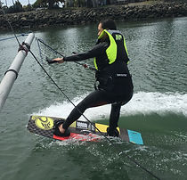 Board skills for kitesurfing