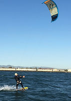 Advanced kitesurf lesson