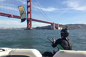 Golden Gate kiteboarding
