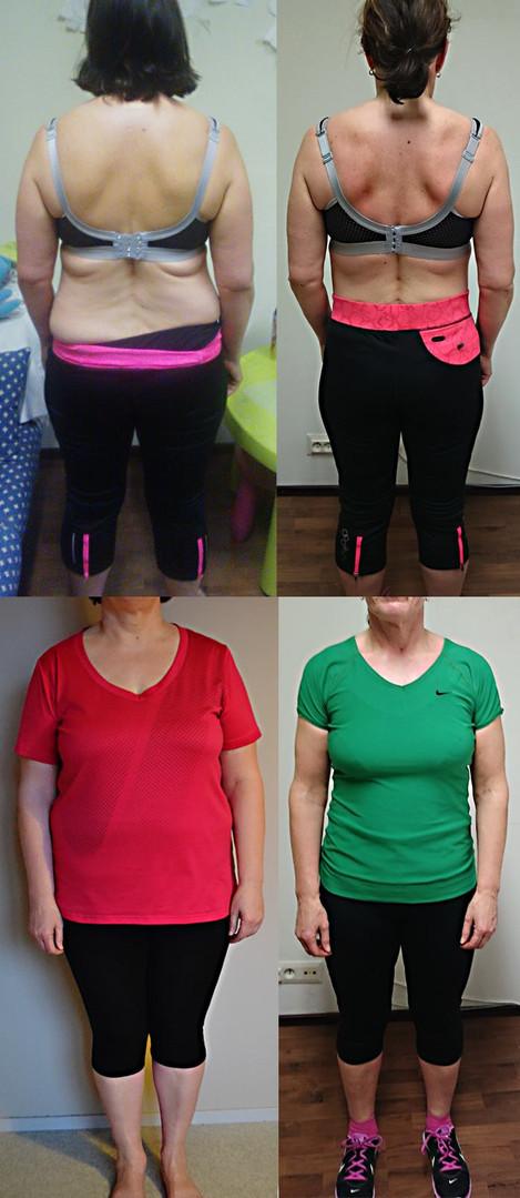 15 viikon laihdutus muutos