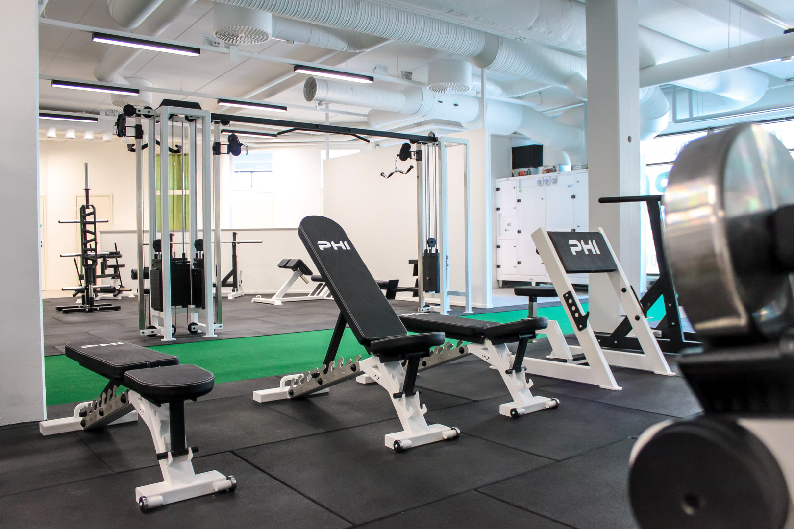 Gym & Green Track