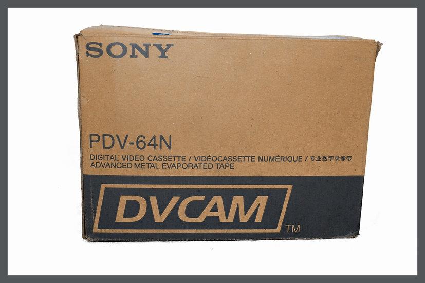 Box 10x Sony DVCAM PDV-64N