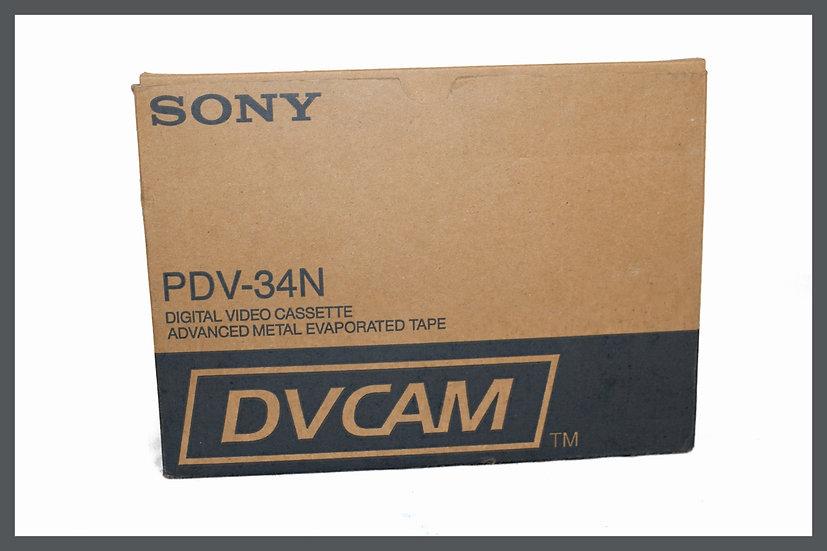 Box-10x-Sony-DVCAM-PDV-34N