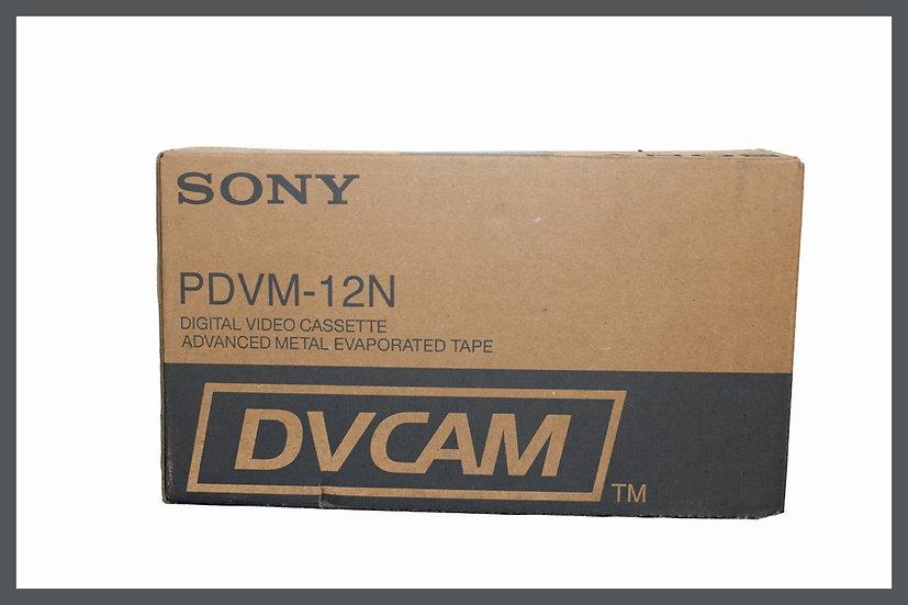 Box 10x Sony DVCAM PDVM-12N