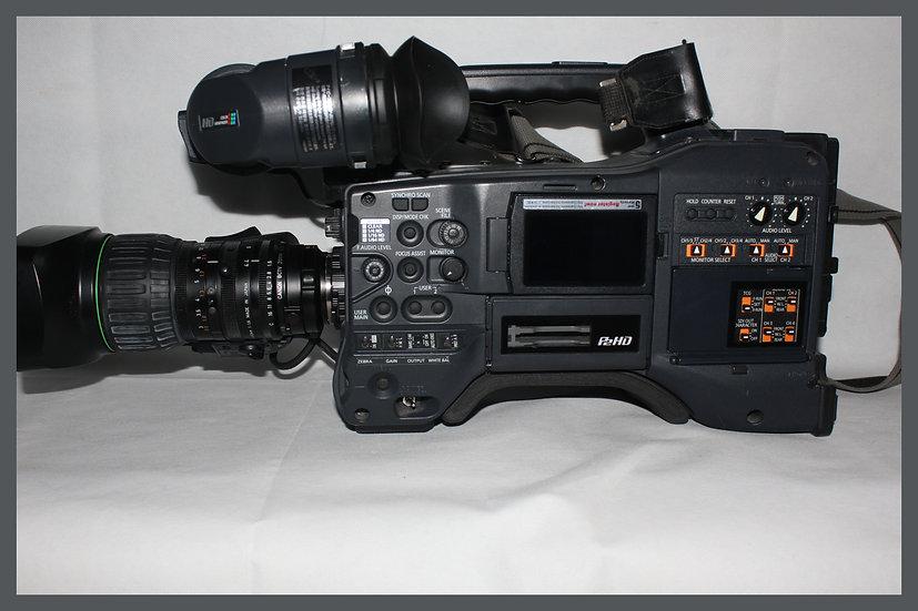 Panasonic AG HPX 371 + Canon KT14x4.4 KRSJ