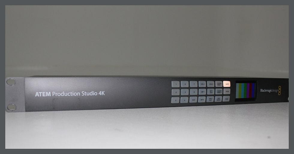 Blackmagic studio production 4K