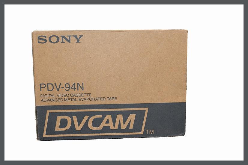 Box 10x Sony DVCAM PDV-94N