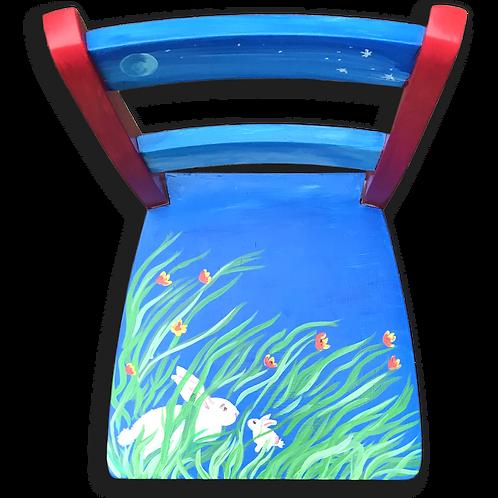 Runaway Bunny Child's Chair