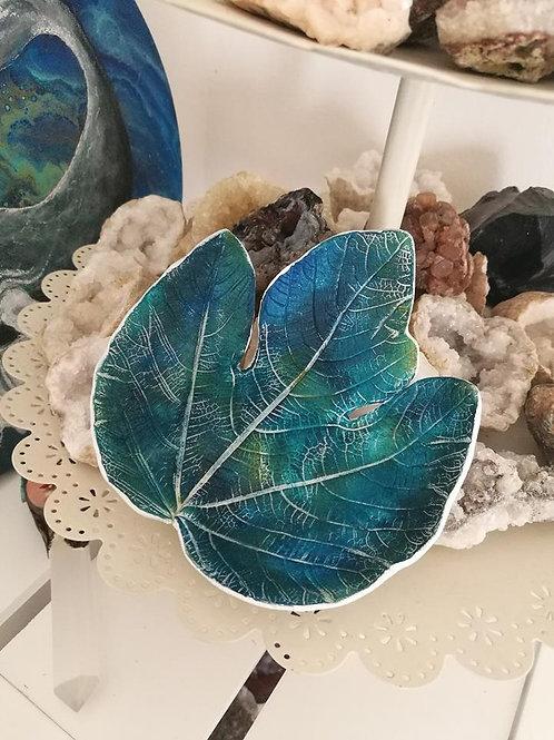Sacred Soul Earth Clay Leaf Bowl
