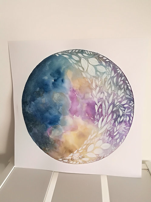 Moon painting 4
