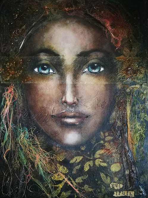 Original painting Rise RESERVED FOR A