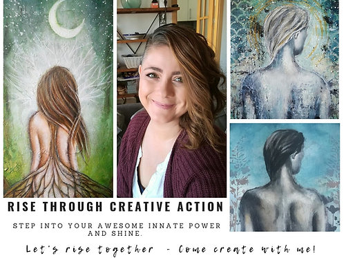 MASTERCLASS RISE THROUGH CREATIVE ACTION : Step into your awesome innate power