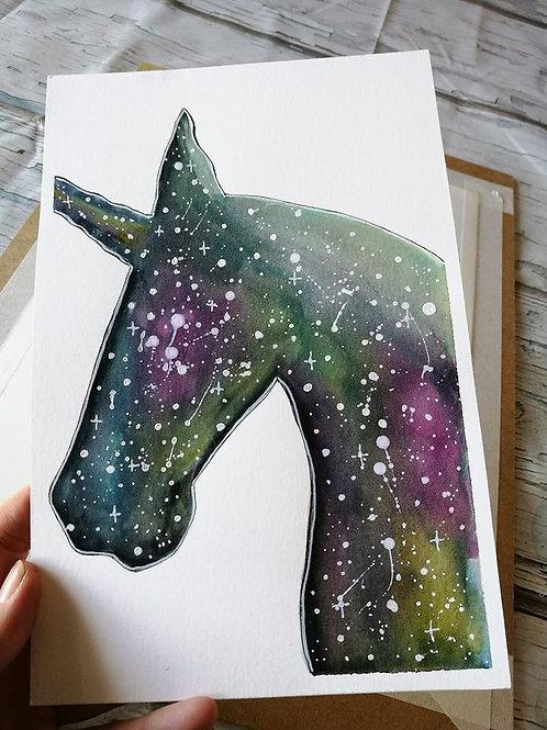 Unicorn : original painting