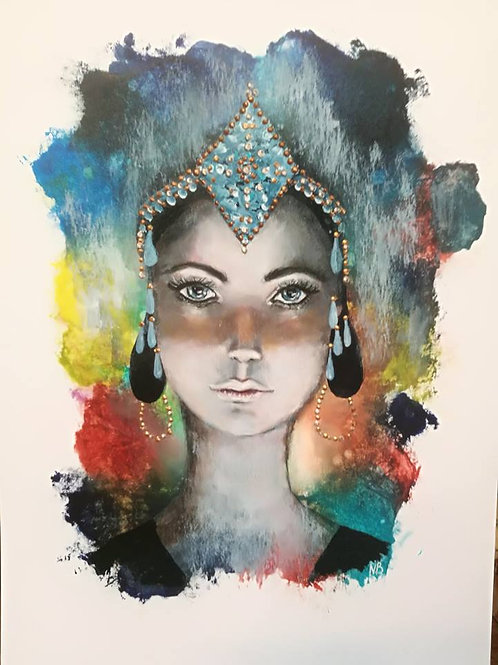 Original painting Goddess