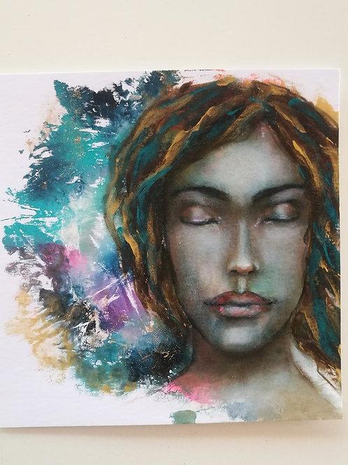 Original painting peaceful
