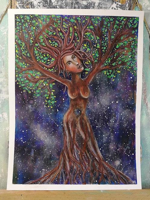 Inner Grounding : Original Painting