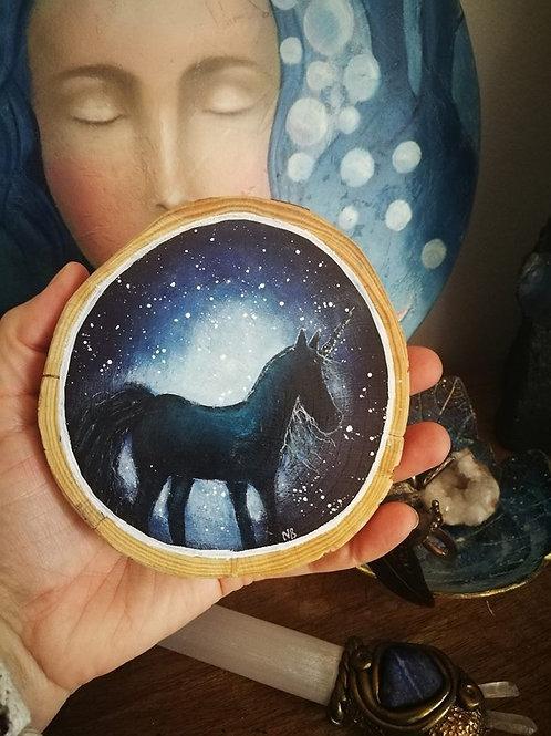 Sacred Soul Tree Slice Unicorn