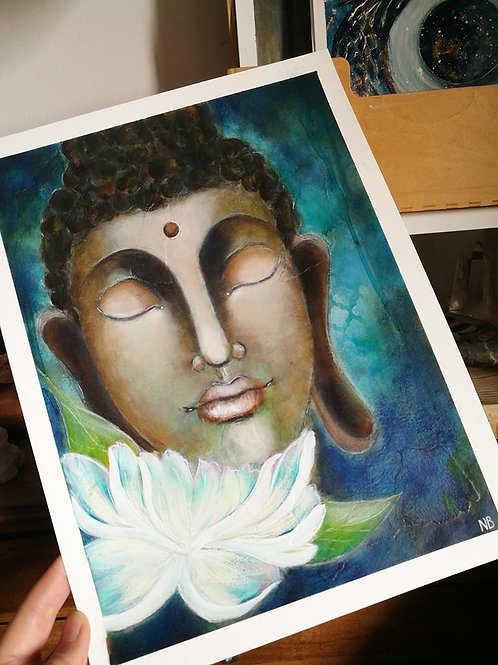Original painting Buddha