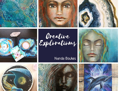 Creative Explorations  9 projects !
