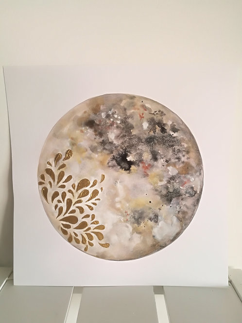 Moon painting 3
