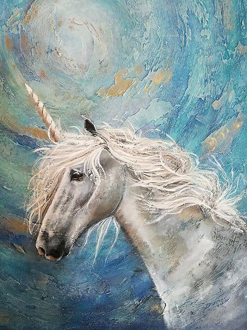 Original painting Unicorn reserved