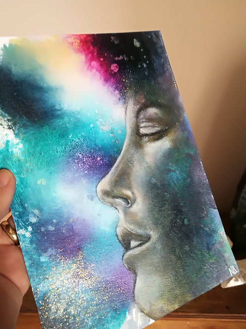 Original painting connected