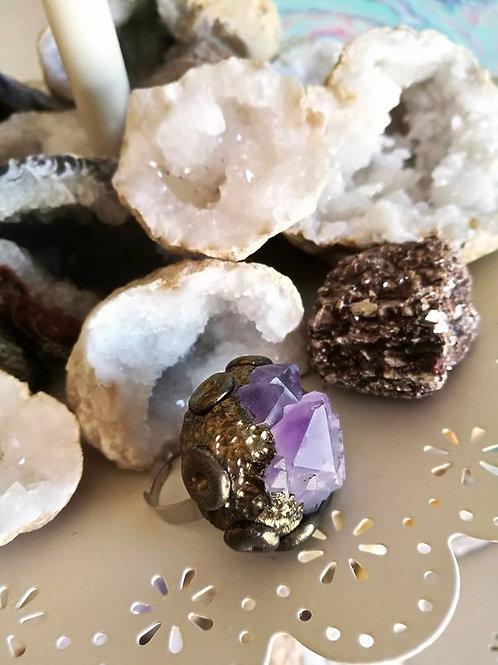Sacred Soul Crystal Ring