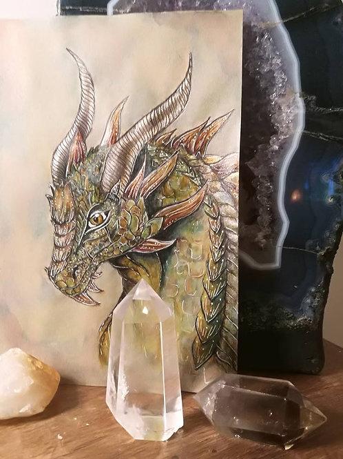 Original Painting  Dragon