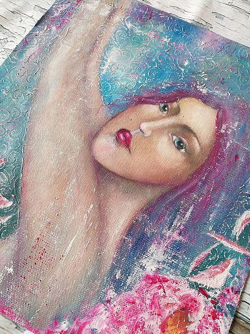 Mermaid : original painting