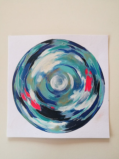 Original painting energyvortex