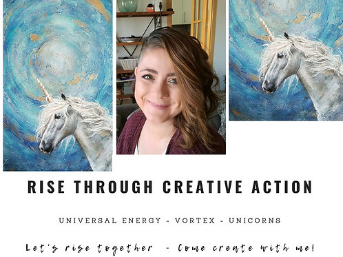 MASTERCLASS RISE THROUGH CREATIVE ACTION February